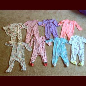 9-mo Sleep N Play jumpsuits Carter's and J Simpson